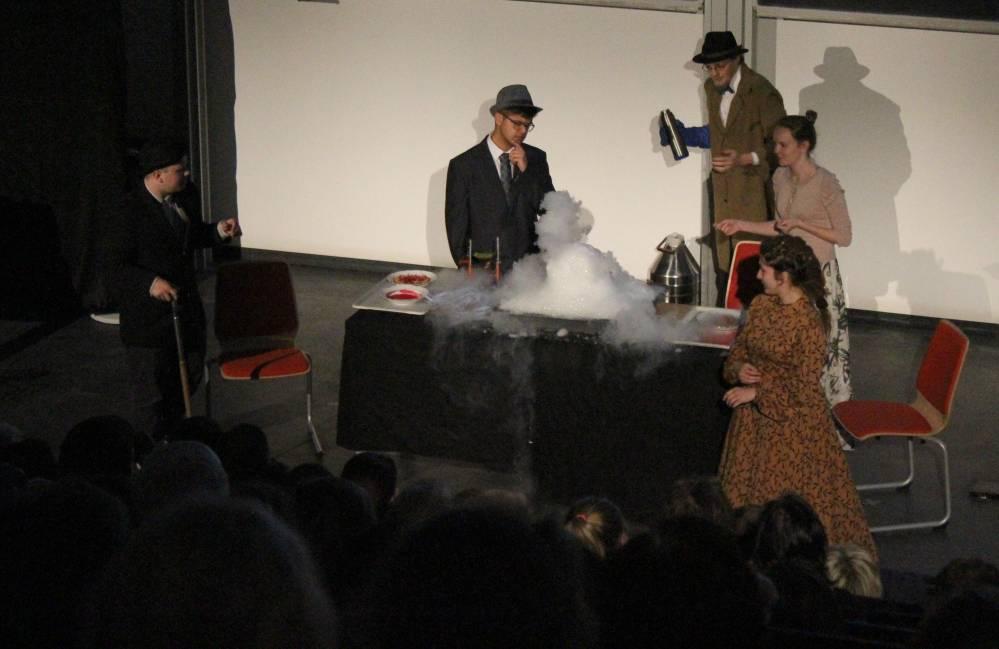 """Lange Nacht der Wissenschaften 2017 Rostock - Schauvorlesung """"Sherlock Holmes"""""""