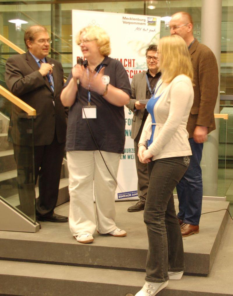 Lange Nacht der Wissenschaften 2013 in der Hnasestadt Rostock - Preisträger des Kommunikationswettbewerbes für besonders gute Wissensvermittlung
