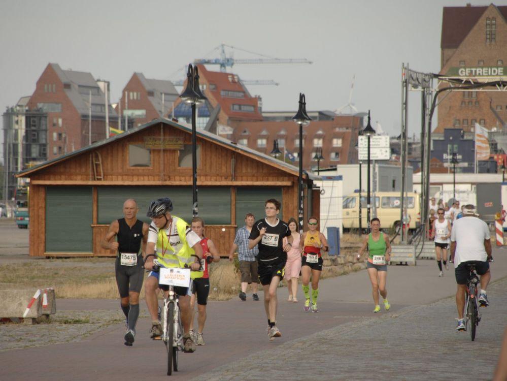 11. hella MarathonNacht Rostock 2013 im Stadthafen