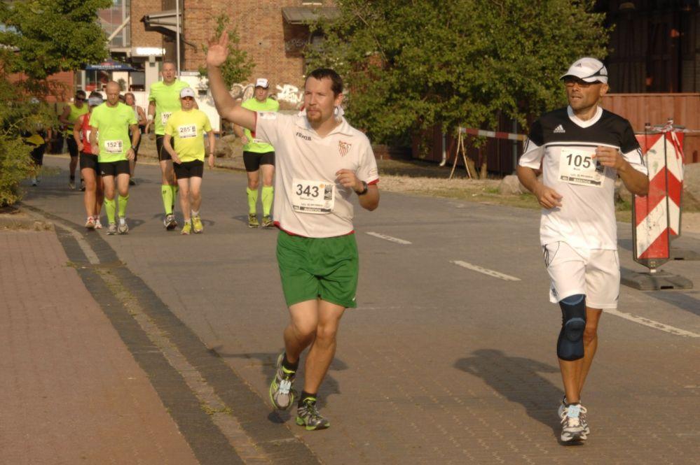 11. hella Marathon-Nacht Rostock 2013 im Stadthafen