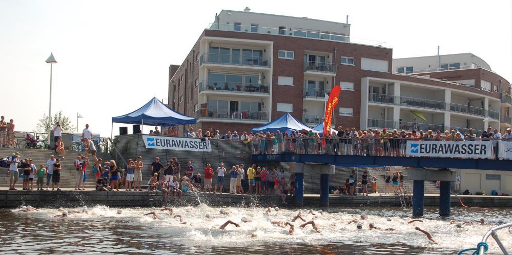 Warnowschwimmen 2013 in der Hansestadt Rostock