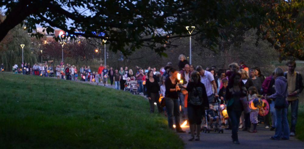 Laternenumzug Reutershagen 2011