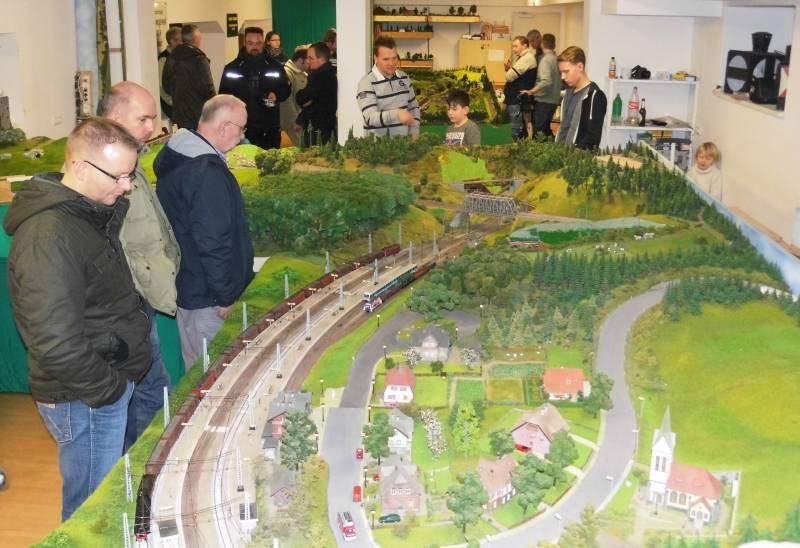 Modelleisenbahn-Fahrtage 2015 in Rostock - Reutershagen