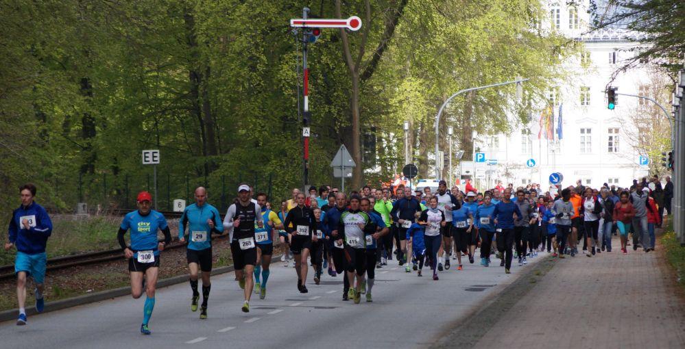 Mollilauf am 1. Mai 2015 in Bad Doberan / Heiligendamm