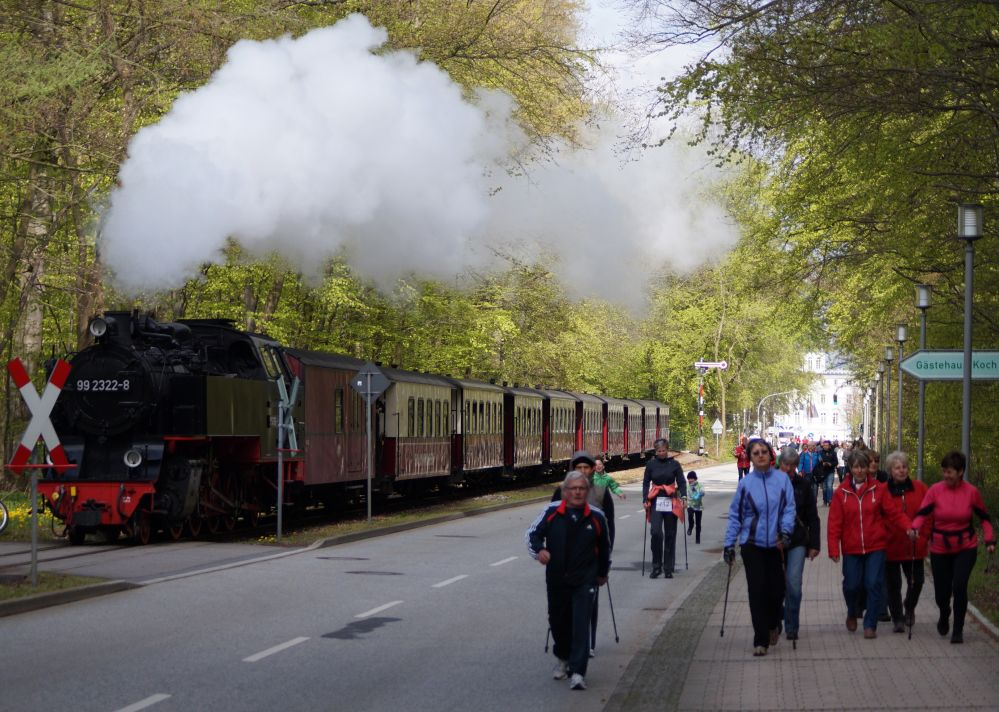 Mollilauf am 1. Mai 2015 in Bad Doberan / Heiligendamm