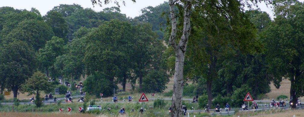 10. MZ Oldtimer und Motorradtreffen 2009 in Torgelow am See in Mecklenburg - Vorpommern