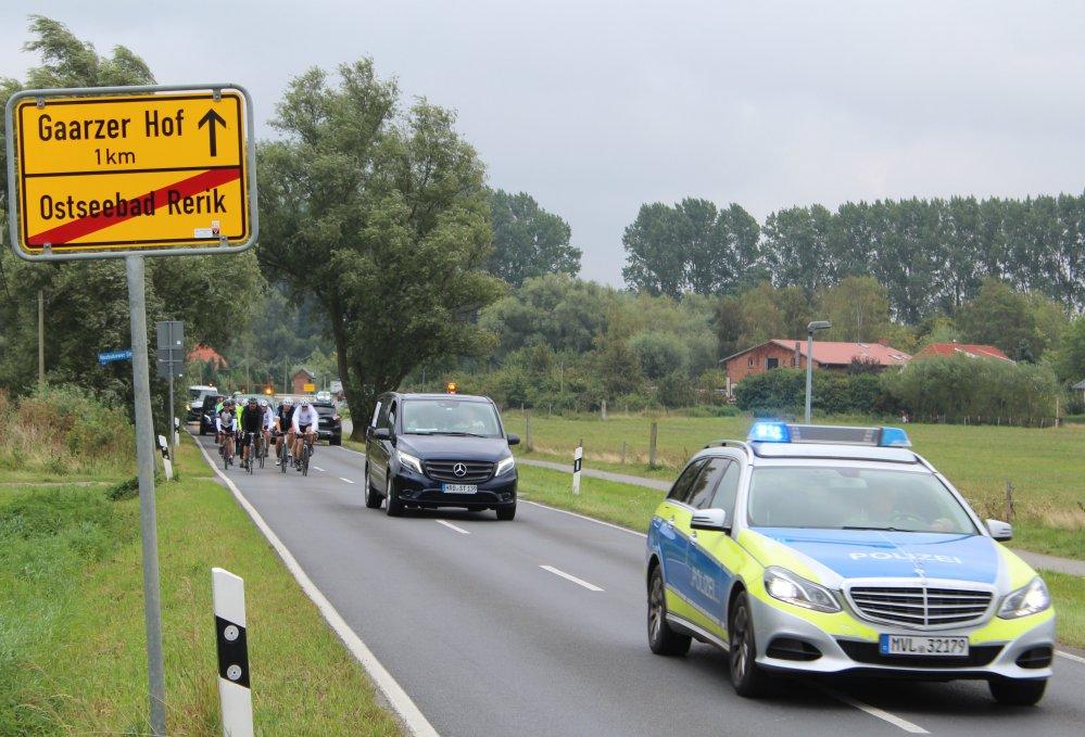6. OSTSEE - RAD - KLASSIK 2016 Rostock - Fahrradspendenfahrt durch Mecklenburg-Vorpommern