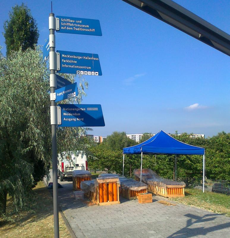 Pyro Games 2013 im IGA - Park der Hansestadt Rostock
