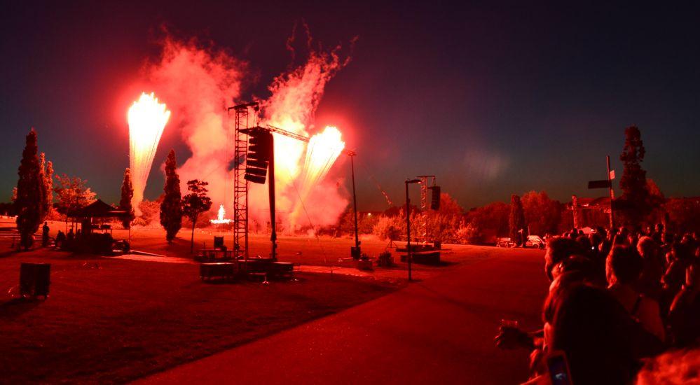 Pyro Games im IGA-Park der Hansestadt Rostock