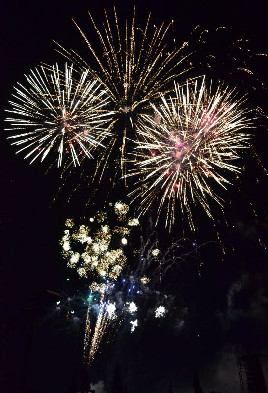 Einladung zum Silvester-Feuerwerk im Hansaviertel der Hansestadt Rostock