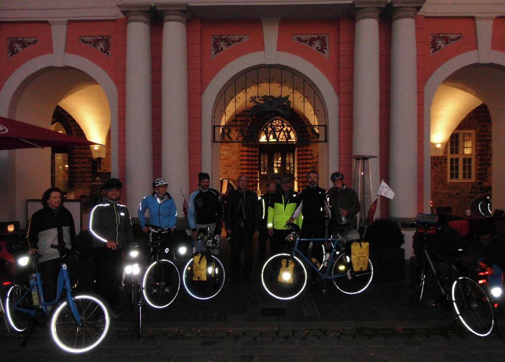 Klima-Radtour Venedig - Kopenhagen * Abschnitt Güstrow - Bützow - Rostock am 28.10.2014