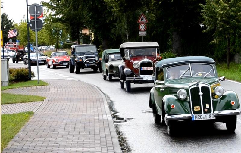 13. Schwanenrallye 2012 - Ausfahrt nach Warnemünde