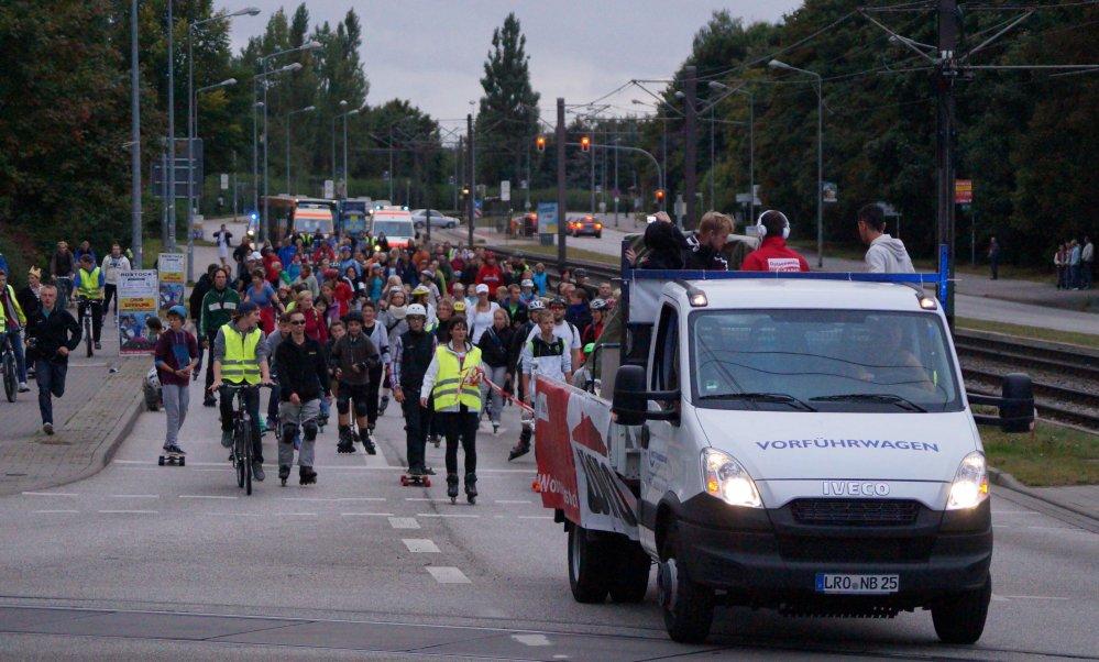 Rostock rollt zur Skater-Nacht 2012