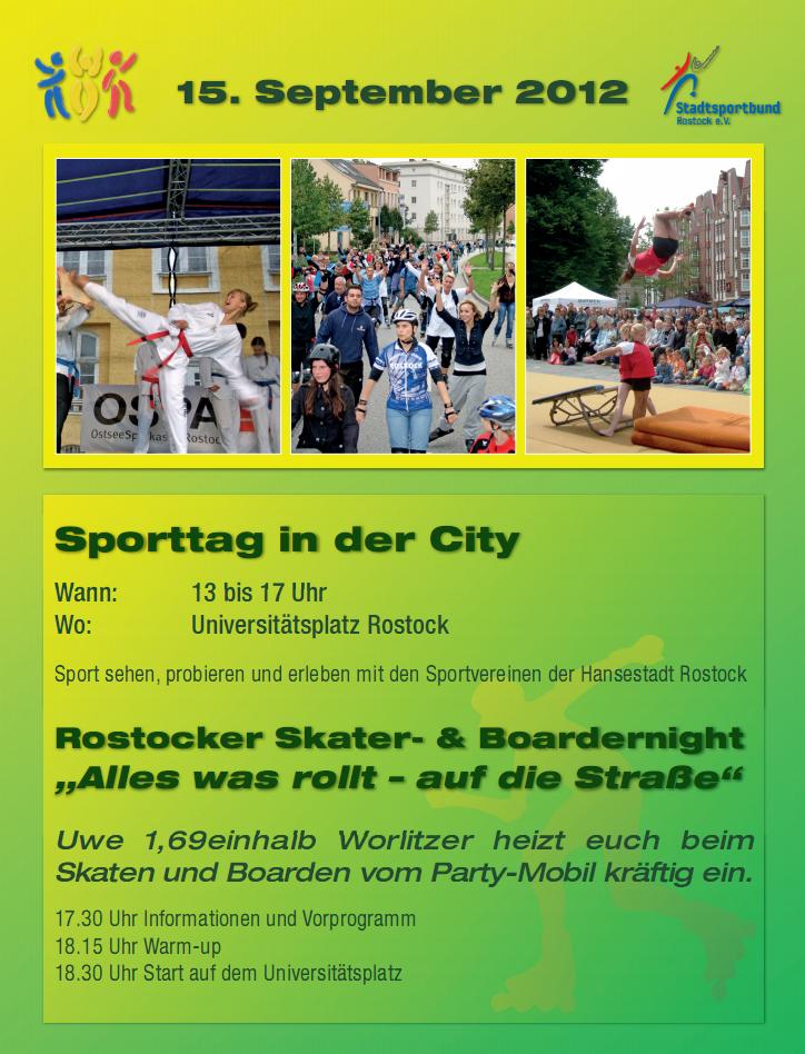 Sporttag 2012 - Info