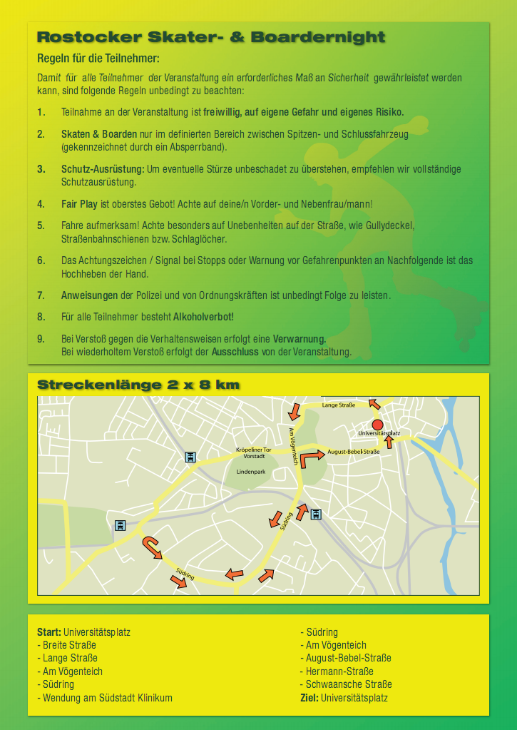 Skaternacht Rostock - Info