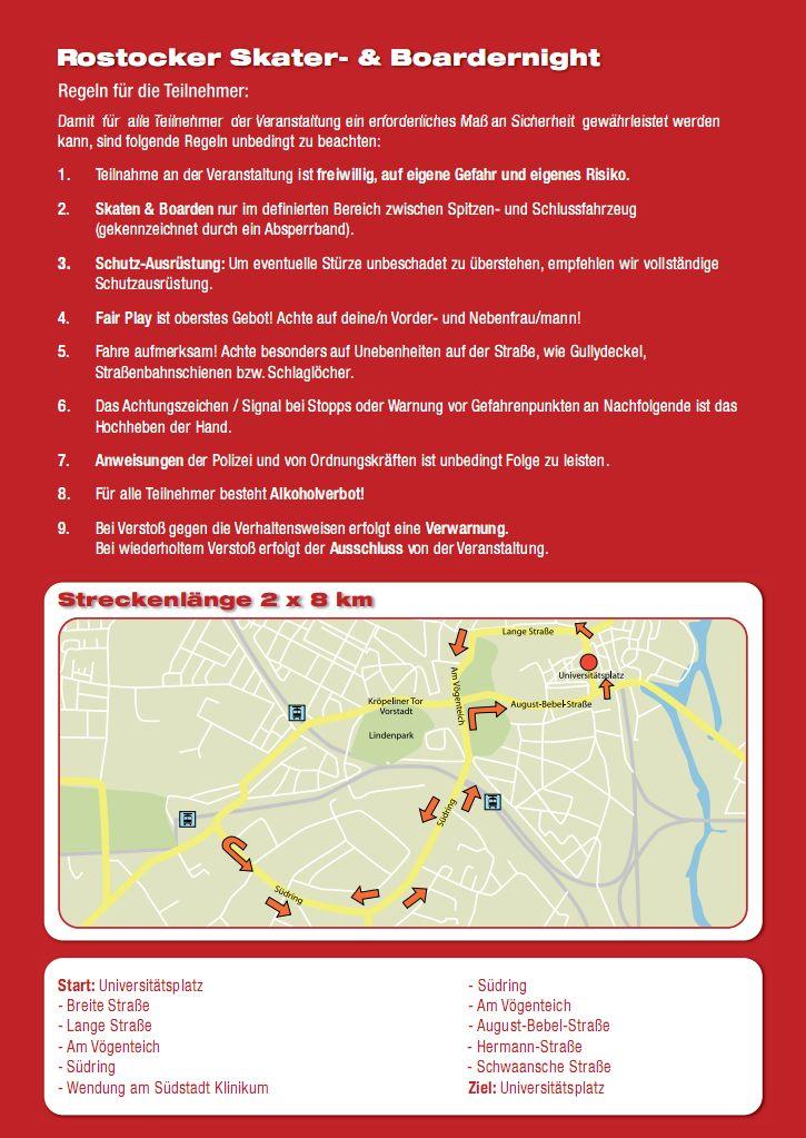 Information zur Rostocker Skater- & Boardernight 2013