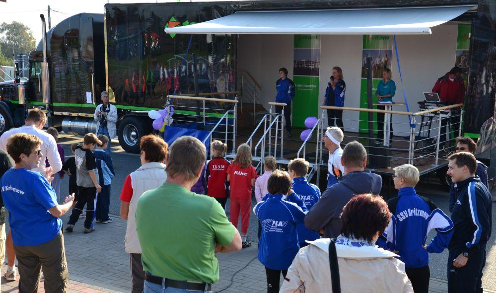3. Spätsommerlauf des SSV Kritzmow am 25.09.2011