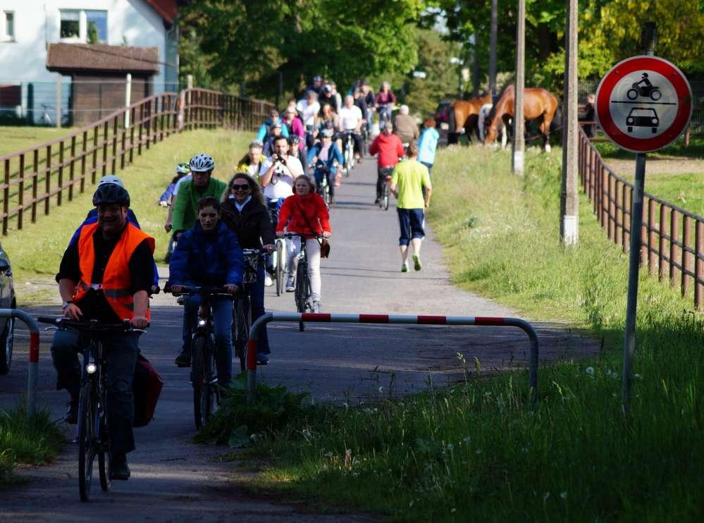 Abschlußfahrt Stadtradeln 2015 in der Hansestadt Rostock