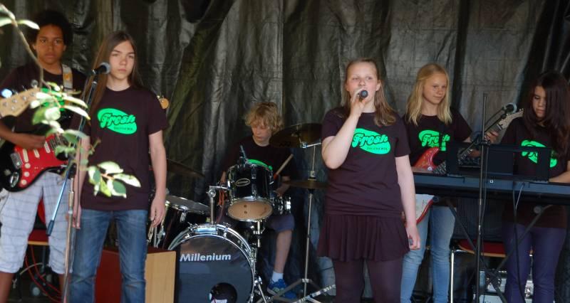 KTV-Fest 2014 - Premiere der Rostocker Schülerband FRESH