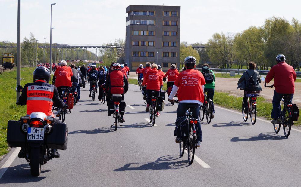 Warnowtour 2015 - Hinfahrt nach Markgrafenheide
