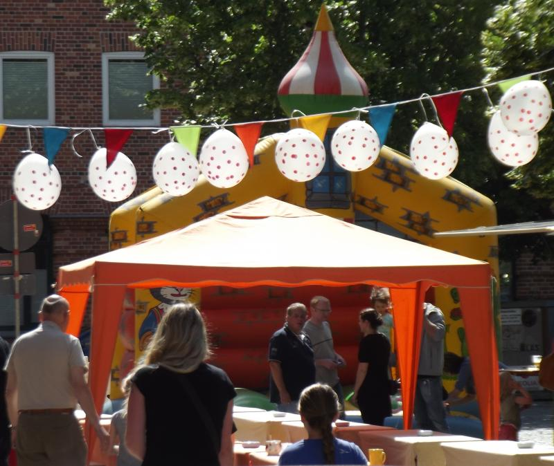 Sommerfest auf dem Wiener Platz 2012 in Rostock - Reutershagen