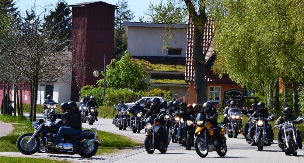 Motorrad-Ausfahrt Wild Viking Run 2012